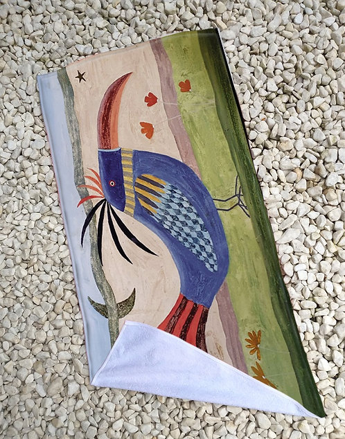 Toalha de Praia Pássaro