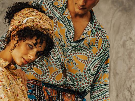 Fashion shoot: Mina Binebine