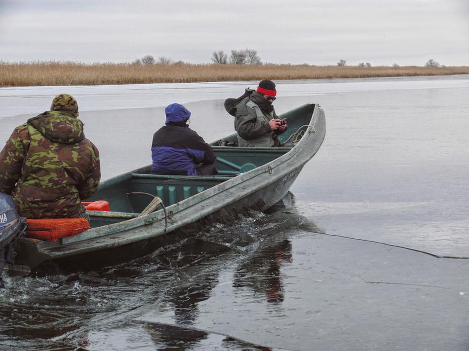 «Предзимняя рыбалка в дельте Волги», (Спортивное рыболовство, 11/2008)