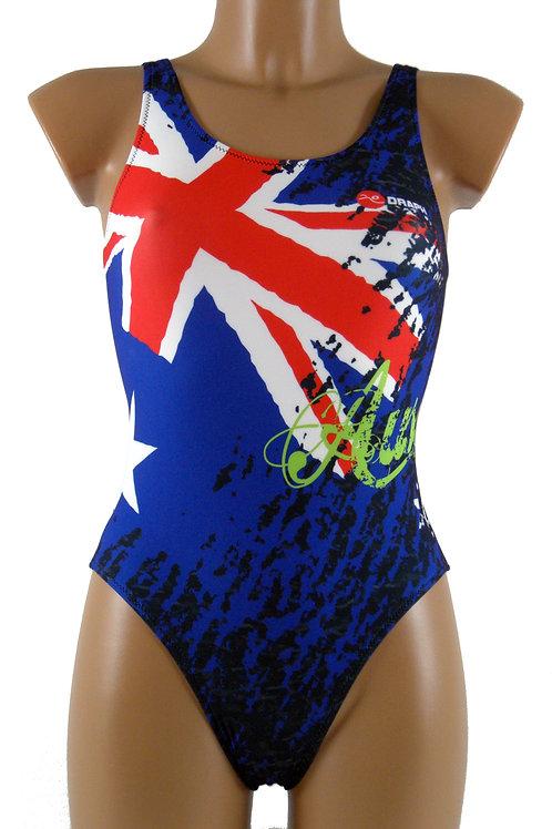 DRAPH costume nuoto olimpionico donna Aussie blue