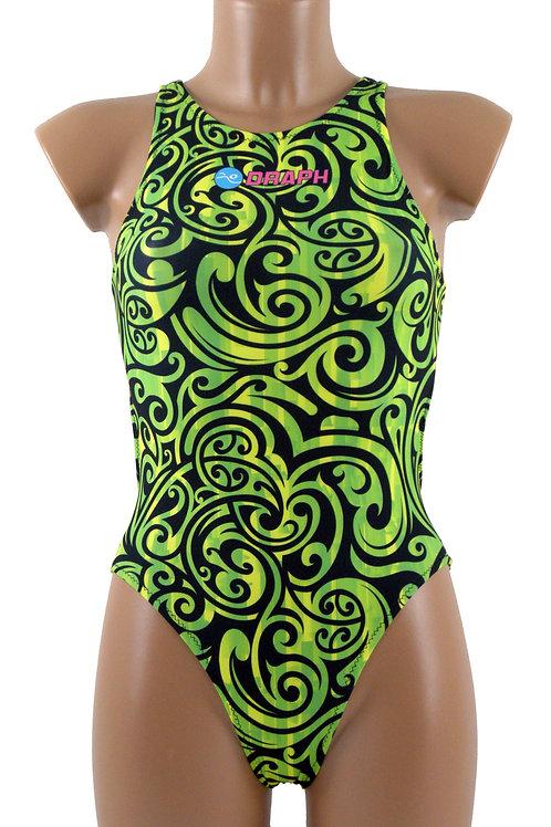DRAPH costume nuoto Full fit Tribal Lemon