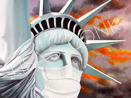 Masked Liberty