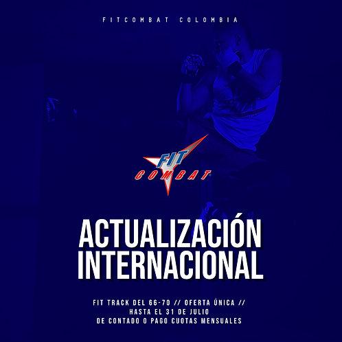 Actualización internacional