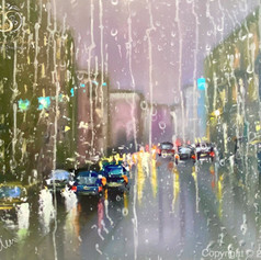 """Regen in der Stadt"""