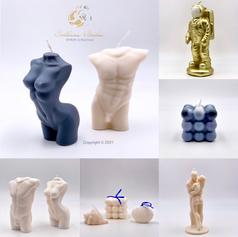 Neue Designer - Kerzen in der Kunstgalerie!