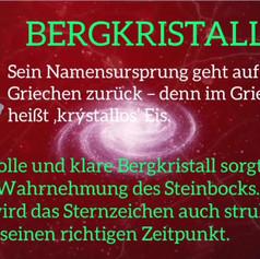 Sternzeichen - STEINBOCK