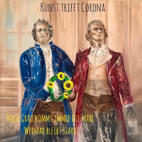 Kunst trifft Corona