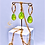 Thumbnail: Sterlingsilber Ohrringe mit Swarovski® Kristallen, handgefertigt