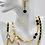 Thumbnail: Designer Ohrringe mit schwarzem Onyx, handgefertigt