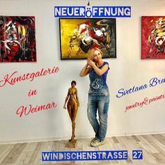 Neueröffnung Kunstgalerie in Weimar