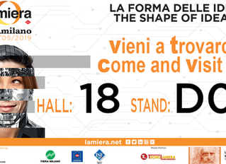 Teknel exhibitor at Lamiera in Milan -  15th to 18th of May. Come and visit us at our booth D08, hal