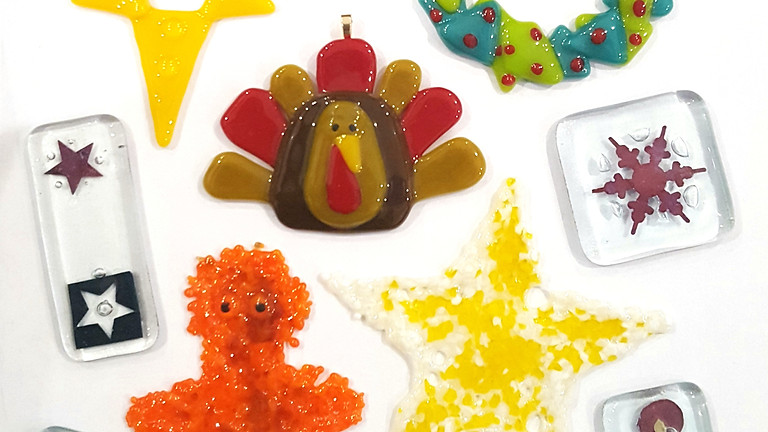 Fused Glass Christmas Decorations Workshop