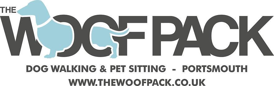 TheWoof Pack Dog walker Portsmouth logo