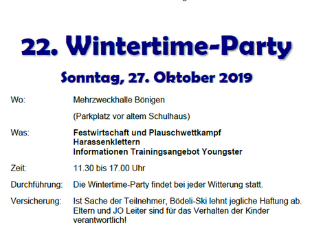 22. Wintertime-Party