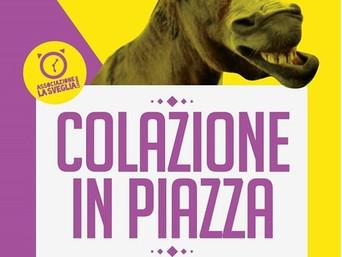 Sabato 2 maggio dalle 9:00 Colazione in Piazza Montaa