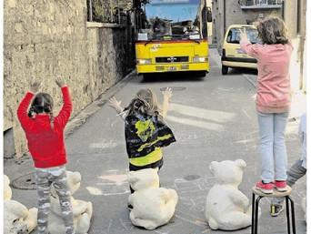 Carona: i bimbi vogliono strade più sicure