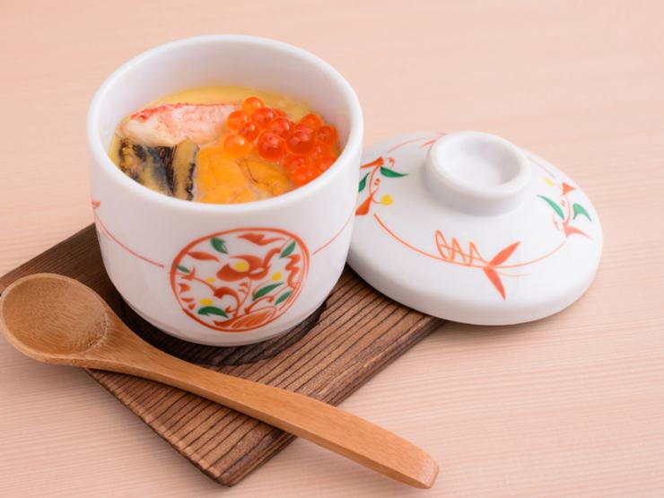 海鮮茶碗蒸し
