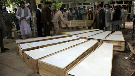 Ten mine-clearing workers killed in Afghanistan gun attack