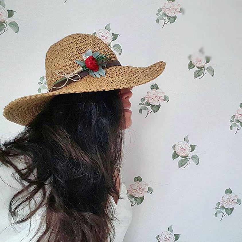 Çiçekler ile Broş ve Saç Aksesuarı Atölyesi