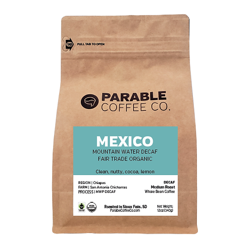 Mexico MWP DECAF FTO