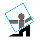 FAVICON Grey Body Glassman Logo 8 x 8 cm
