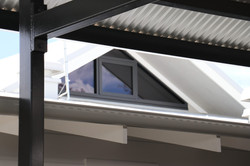 IMG 9321 Raked thermal break double glazed remote operated electric awning window #3