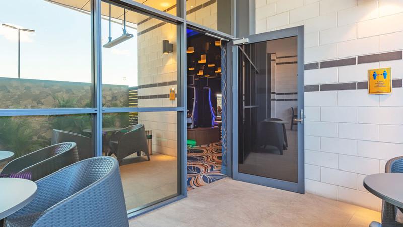 Hinged-Door-with-self-closing-mechanism-
