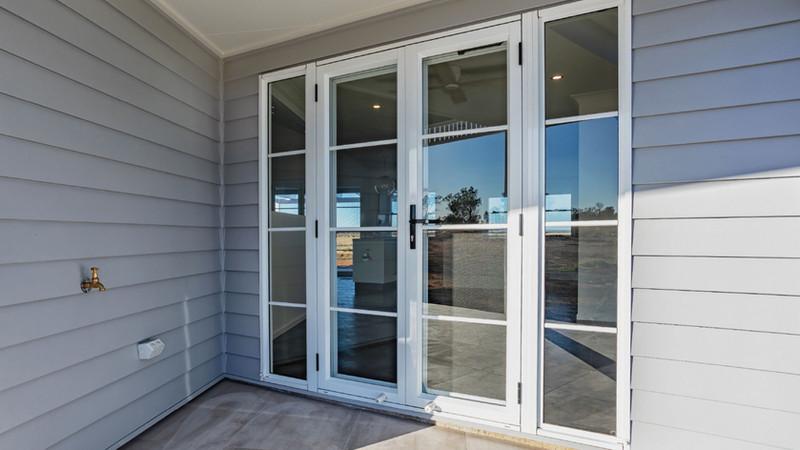 Double-Hinged-Door-with-designer-bars-10