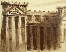 Monument Study #4, 1959-60