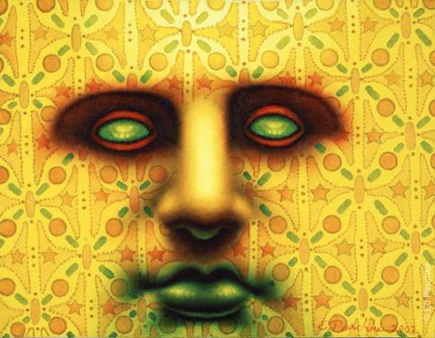 Fabric Face I, 2002