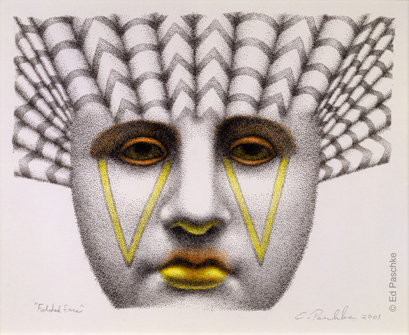 Folded Face, 2001