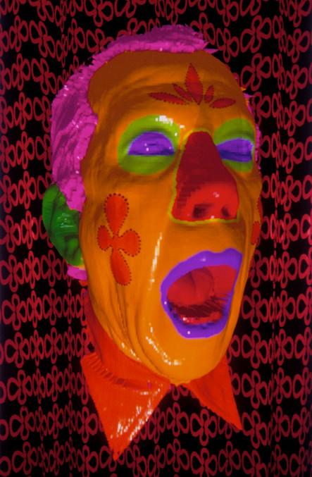 Self Portrait, Orange