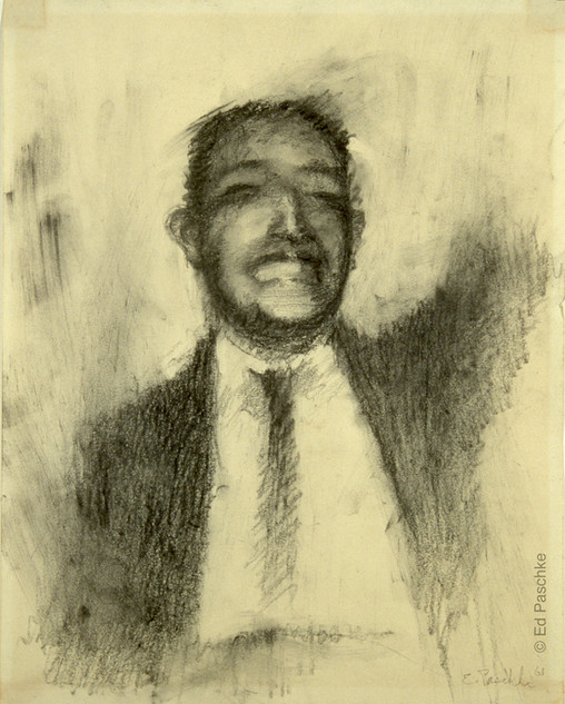 Untitled (Man Waving), 1961