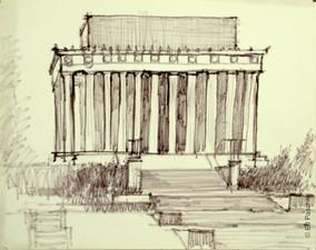 Monument Study #1, 1959-60