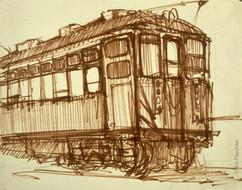 Untitled (Streetcar #1), 1959-60