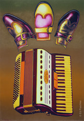 Accordian Shoes, 1971