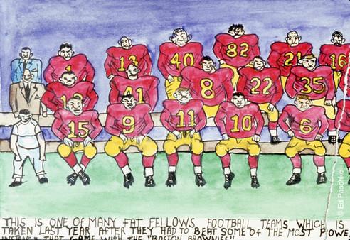 Fat Fellows Football #2, 1956