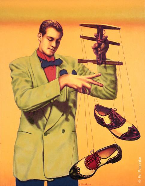 Shoe Puppet, 1969