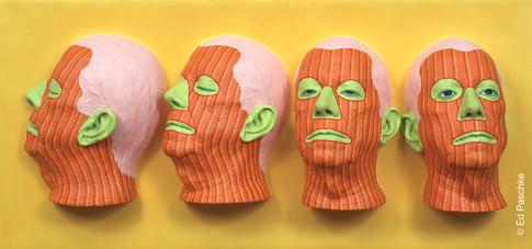 Unfinished Heads II, 2004