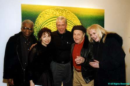 "Richard Hunt, Maya Polsky & Bob ""Bumblebee"" Novak"