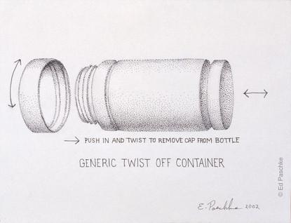 Generic Twist Off Container, 2002