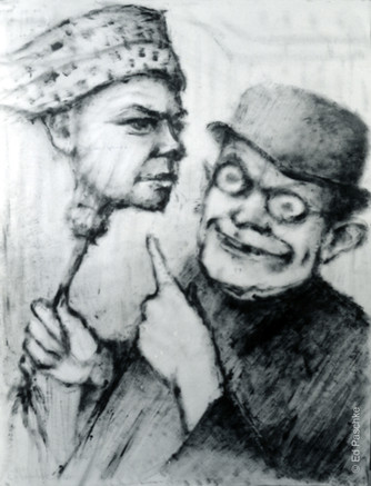 Untitled (Man Holding Head)