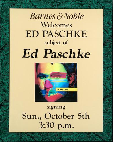 Ed Paschke Signing