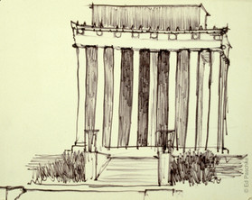 Monument Study #2, 1959-60