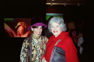 Chickie Alter and Collector Ruth Horwich