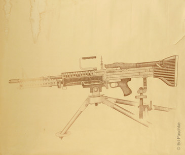 Untitled (Machine Gun), 1963