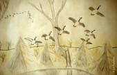 Untitled (Flying Geese)