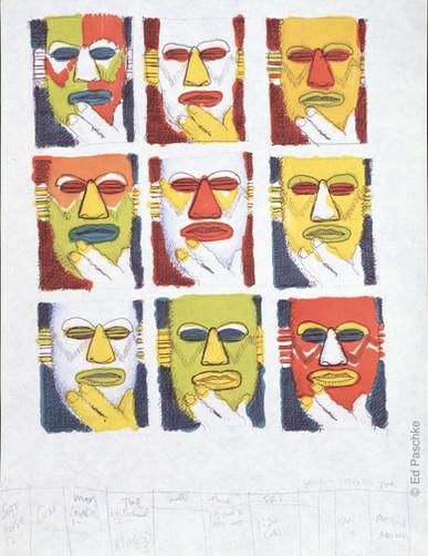 Untitled (Nine Pump Heads)