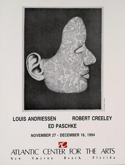 Andriessen, Creeley, Paschke