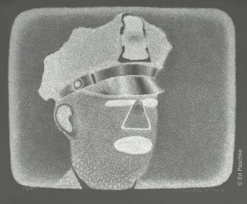 Cop II, 1990 (Color Added 1996)